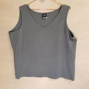 Eileen Fisher Women Size 2x Green Top